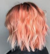 blorange hair curto